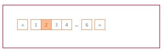 纯JS实现前端动态分页码